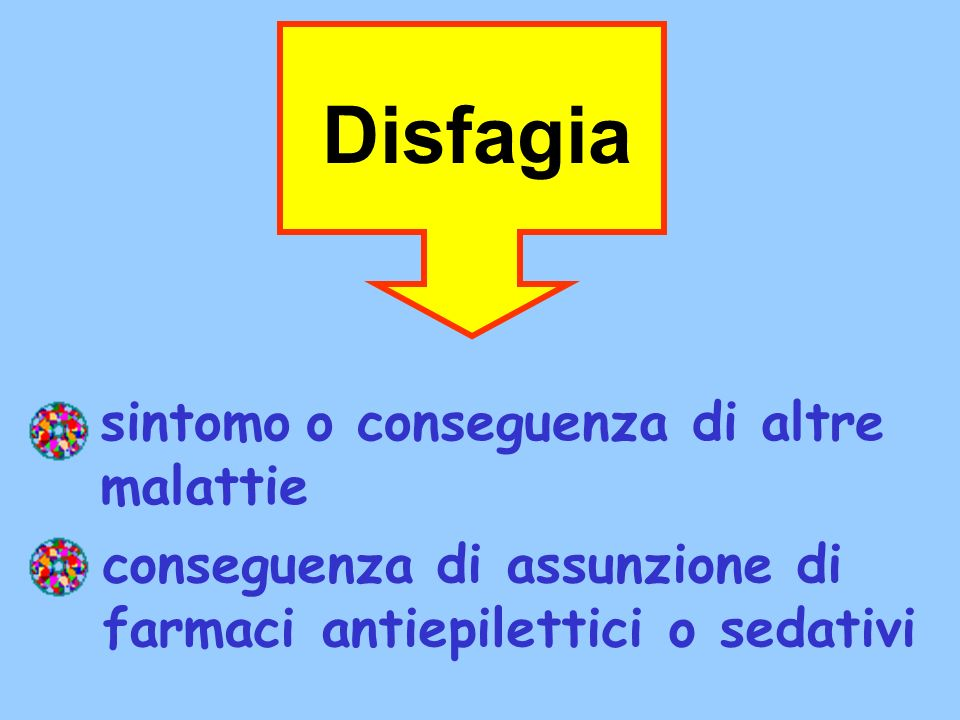 Disfagia sintomo o conseguenza di altre malattie