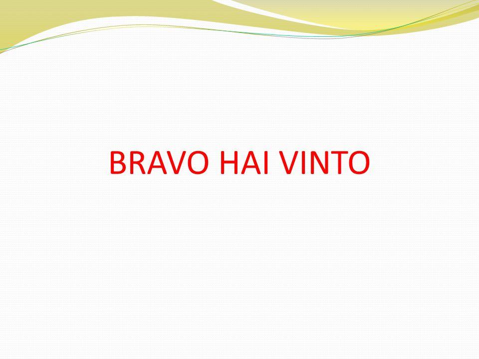 BRAVO HAI VINTO