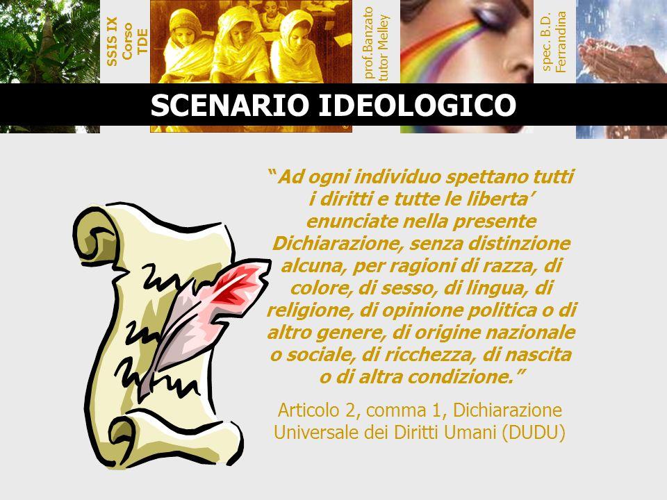 SSIS IX Corso TDE spec. B.D. Ferrandina. prof.Banzato tutor Melley.