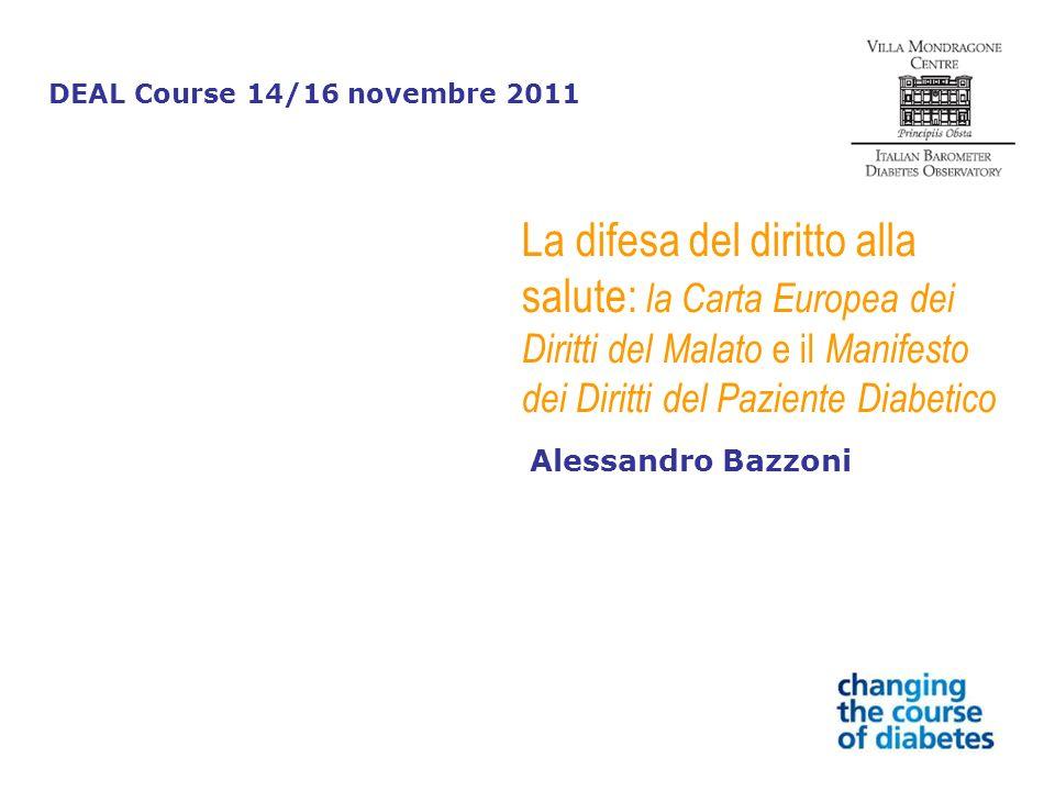 DEAL Course 14/16 novembre 2011