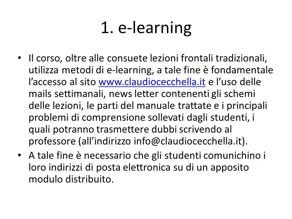 1. e-learning