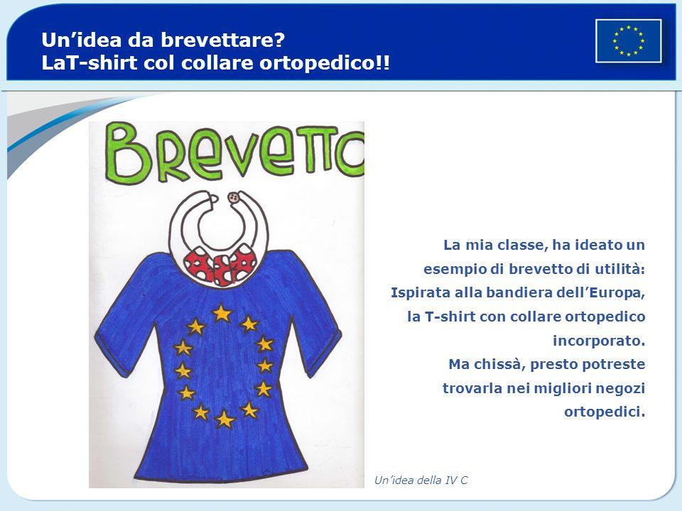 Un'idea da brevettare LaT-shirt col collare ortopedico!!