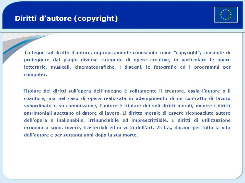 Diritti d'autore (copyright)