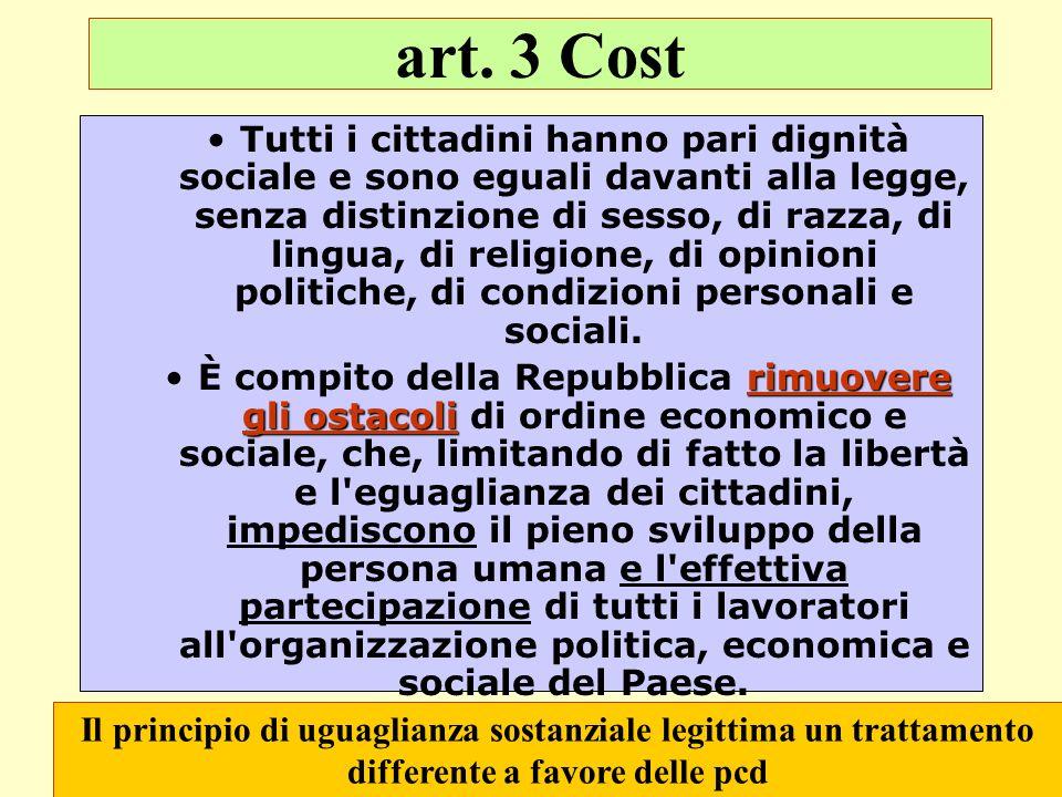 art. 3 Cost