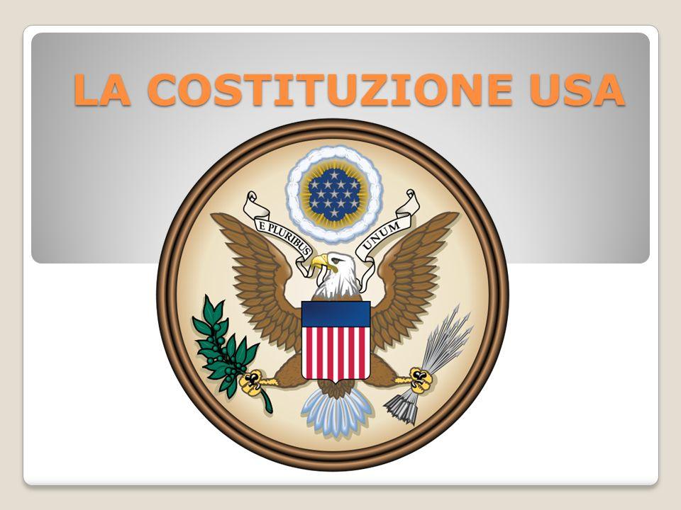 LA COSTITUZIONE USA