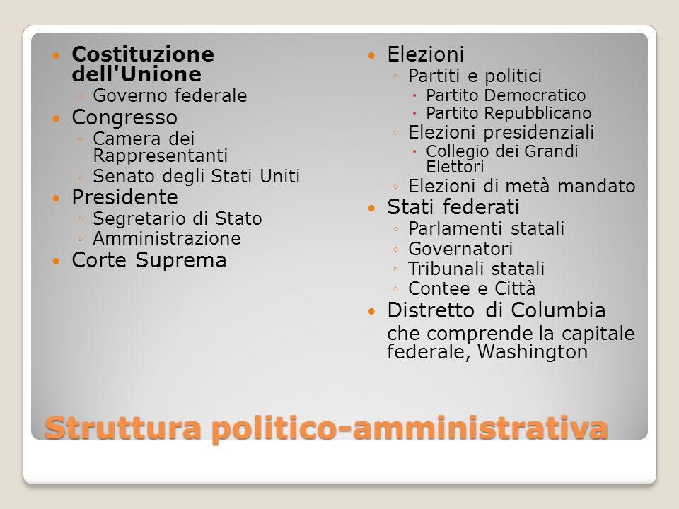 Struttura politico-amministrativa