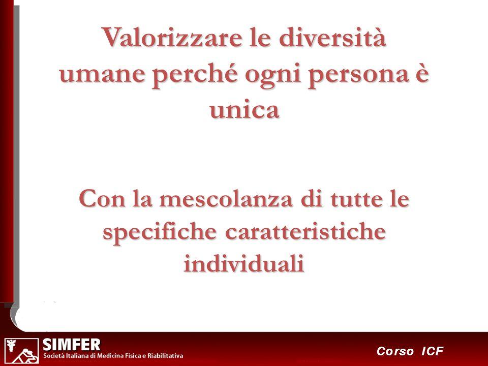 Valorizzare le diversità umane perché ogni persona è unica