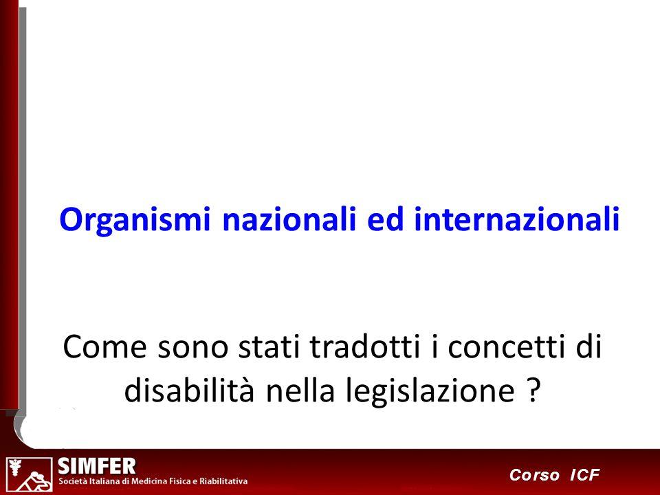 Come sono stati tradotti i concetti di disabilità nella legislazione