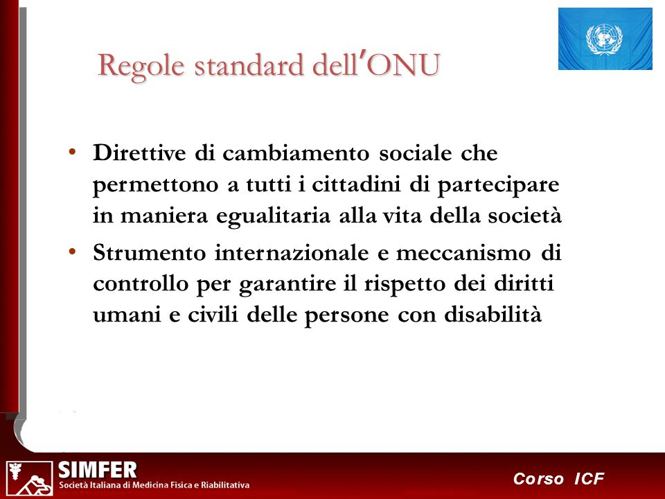 Regole standard dell'ONU