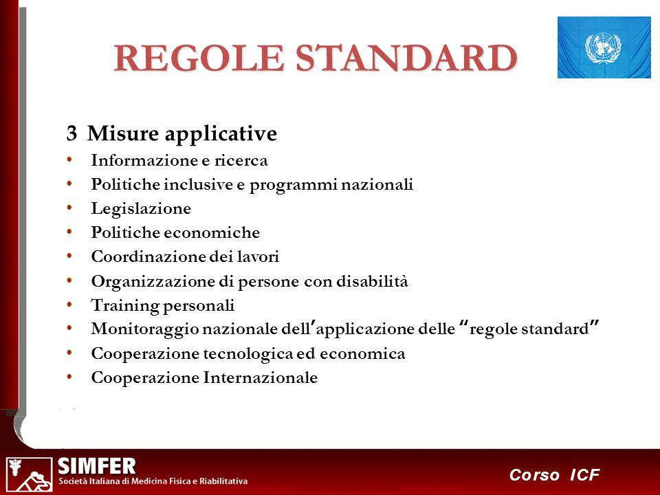 REGOLE STANDARD 3 Misure applicative Informazione e ricerca