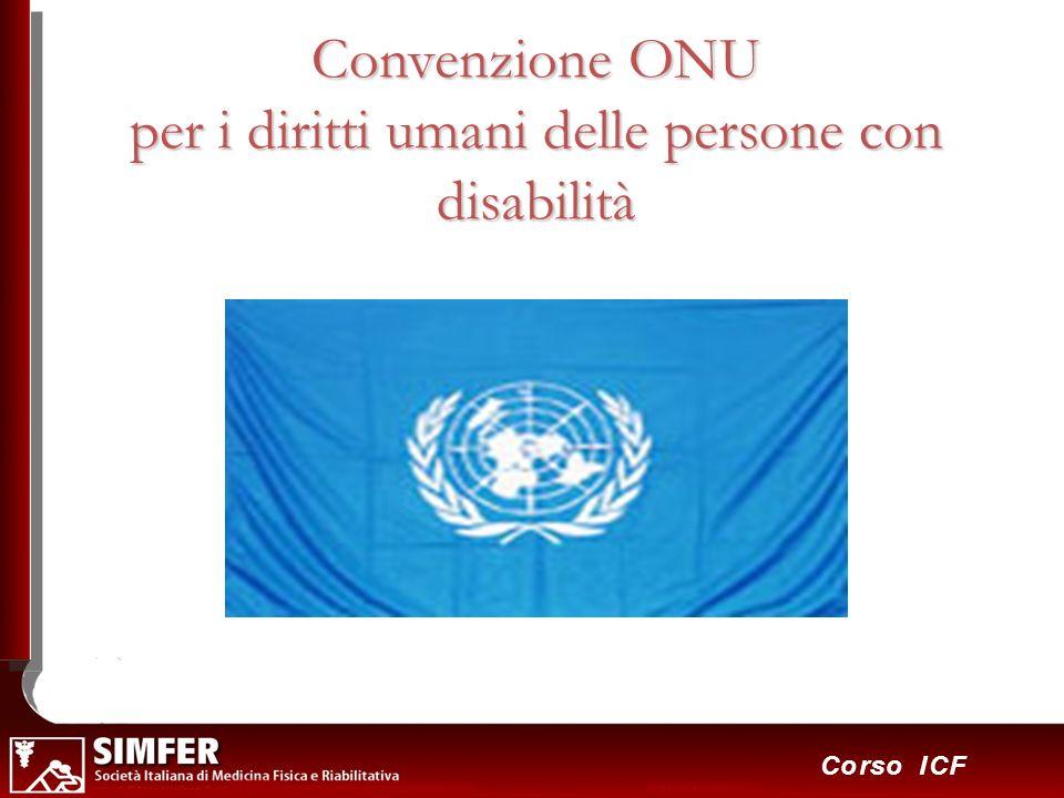 Convenzione ONU per i diritti umani delle persone con disabilità