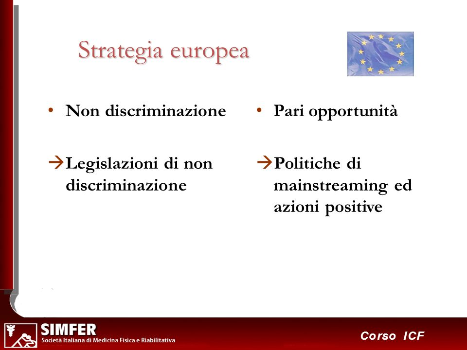 Strategia europea Non discriminazione