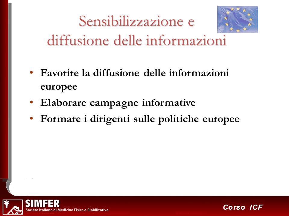 Sensibilizzazione e diffusione delle informazioni