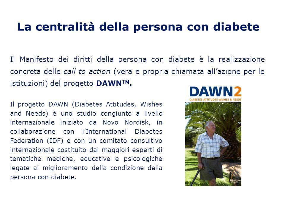 La centralità della persona con diabete