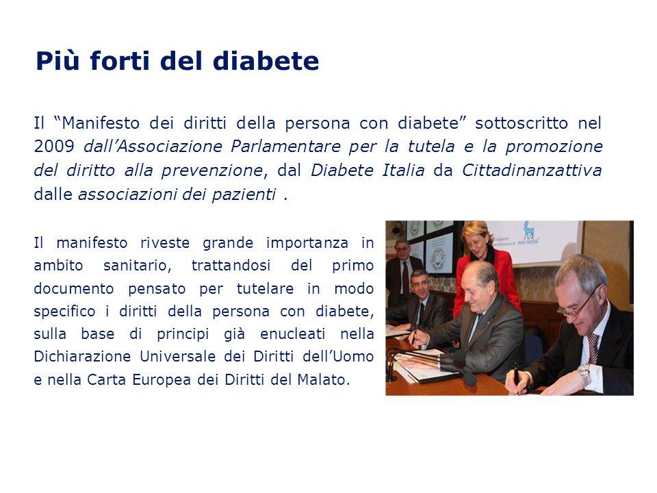 Più forti del diabete