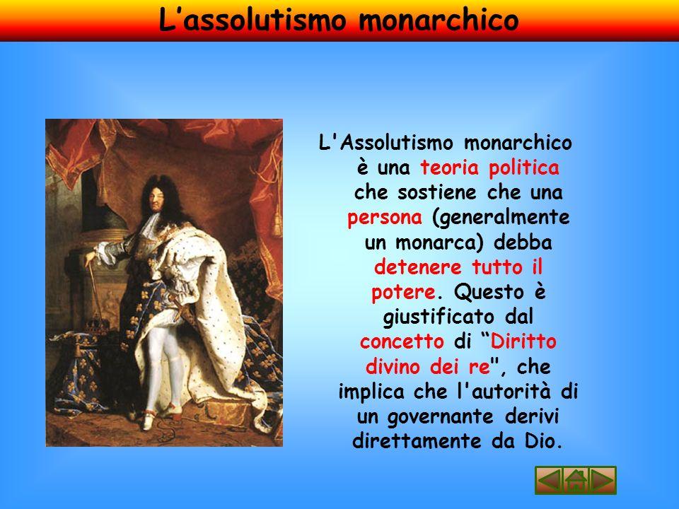 L'assolutismo monarchico