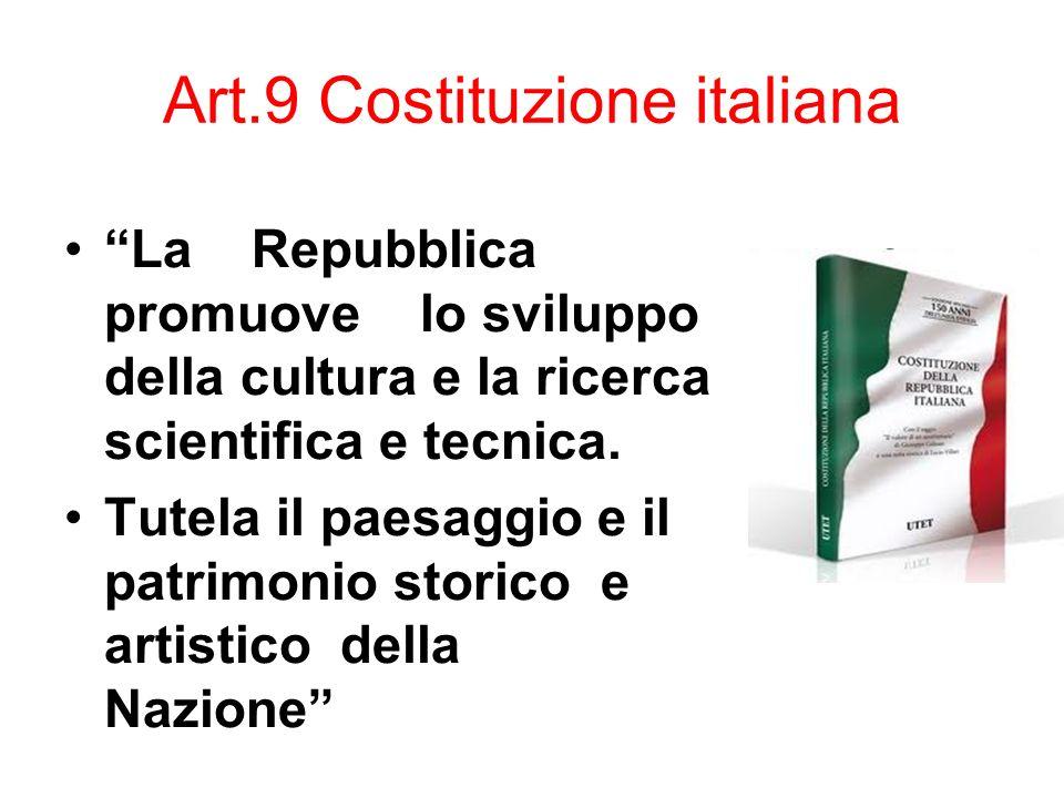 Art.9 Costituzione italiana