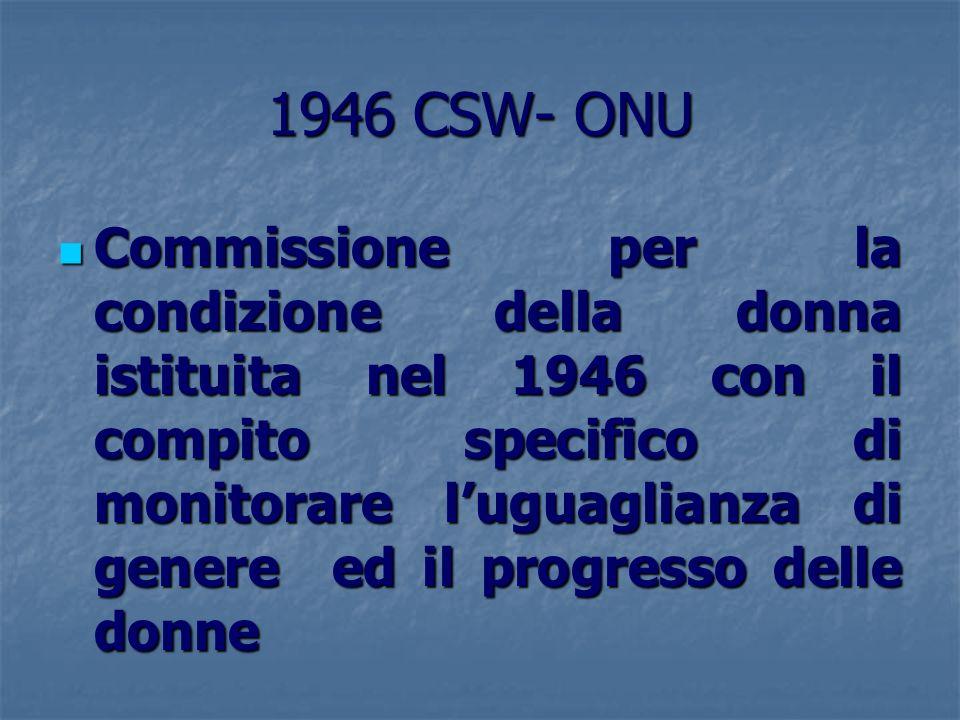 1946 CSW- ONU