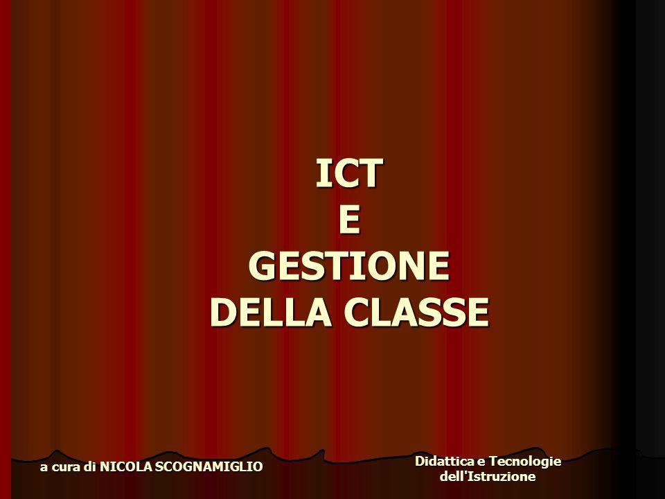 ICT E GESTIONE DELLA CLASSE