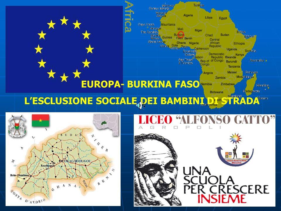 L'ESCLUSIONE SOCIALE DEI BAMBINI DI STRADA