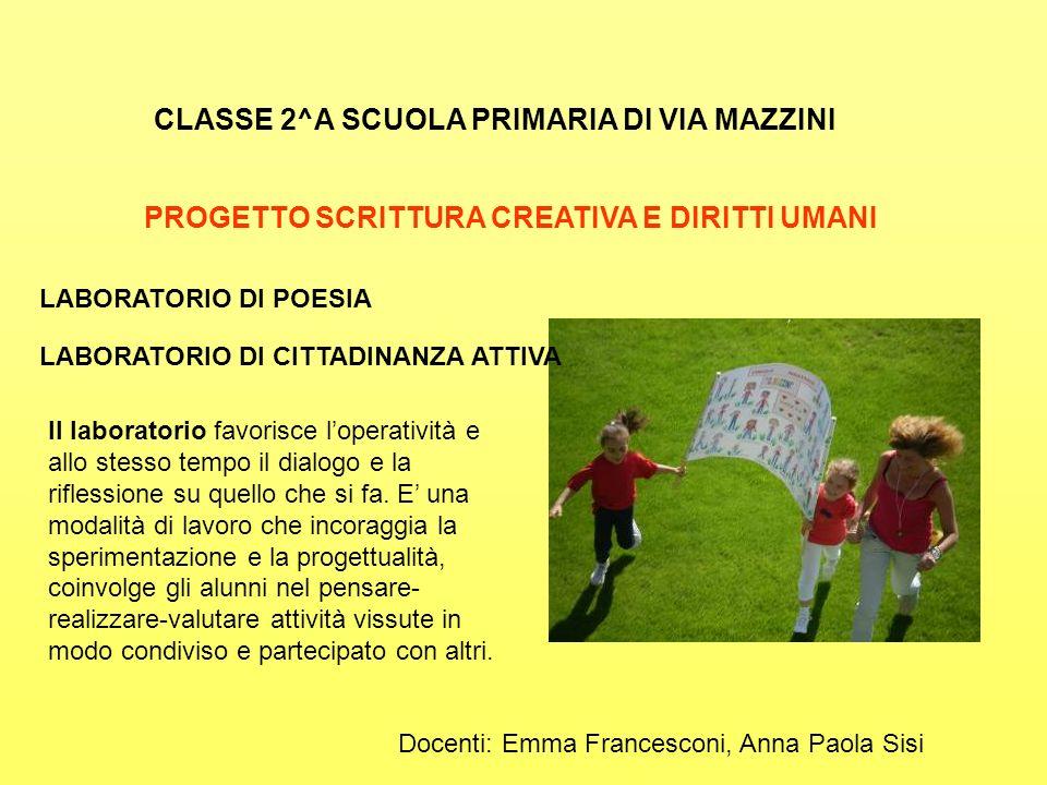 CLASSE 2^A SCUOLA PRIMARIA DI VIA MAZZINI