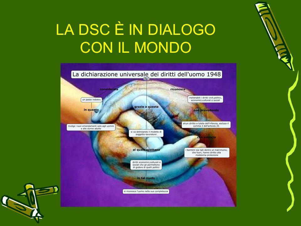 LA DSC È IN DIALOGO CON IL MONDO