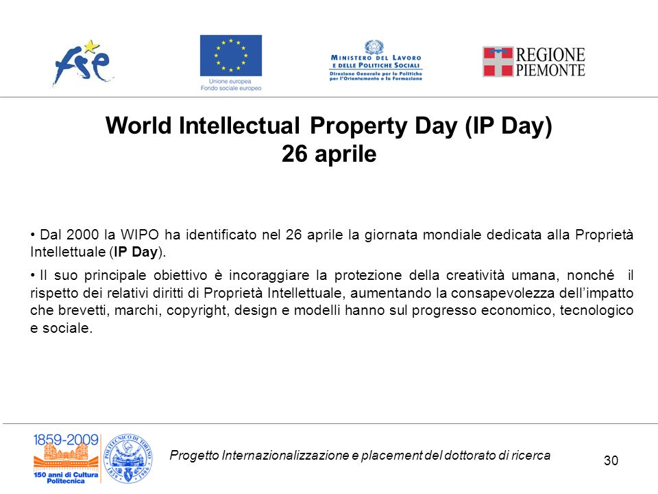World Intellectual Property Day (IP Day)