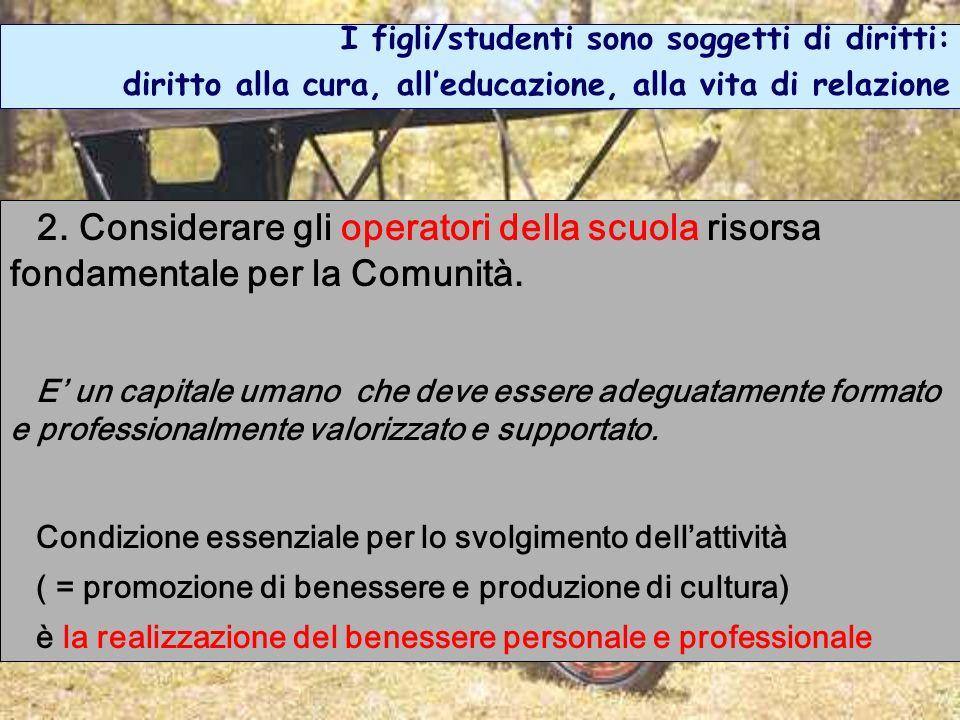 I figli/studenti sono soggetti di diritti: