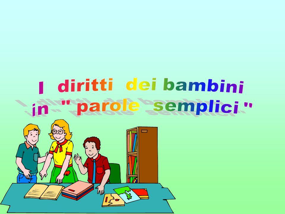 """Connu I diritti dei bambini in """" parole semplici """" Traduzione - ppt  TU15"""