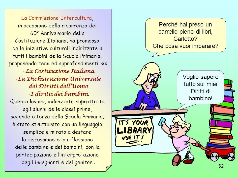 La Costituzione Italiana La Dichiarazione Universale