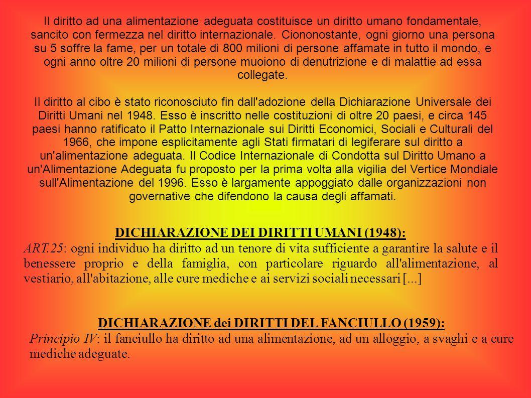 DICHIARAZIONE DEI DIRITTI UMANI (1948):