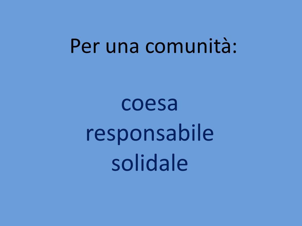coesa responsabile solidale