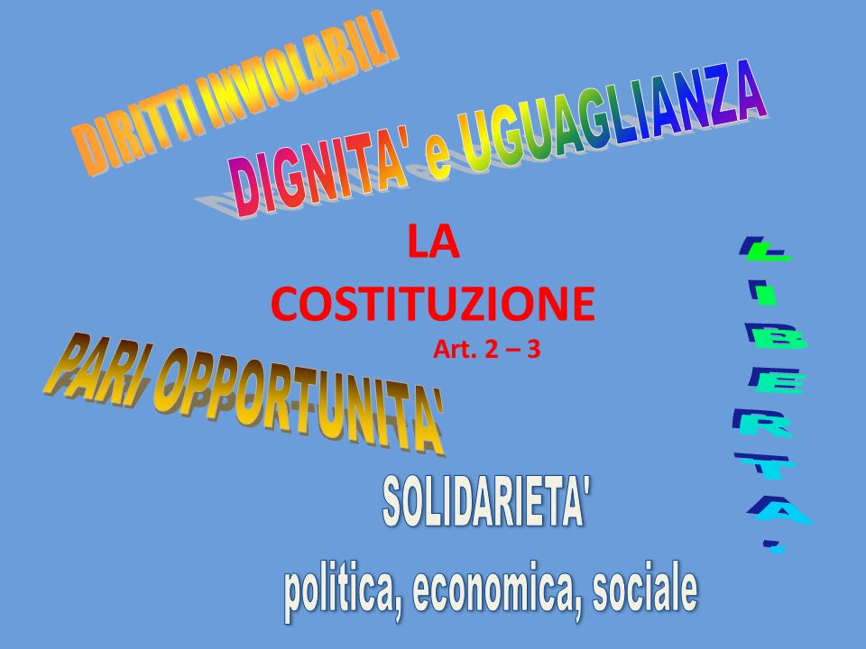 politica, economica, sociale
