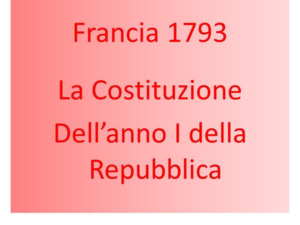 Dell'anno I della Repubblica