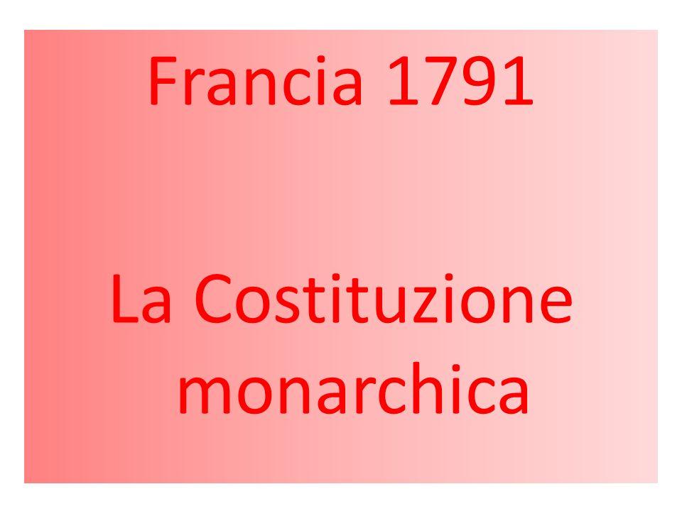 La Costituzione monarchica