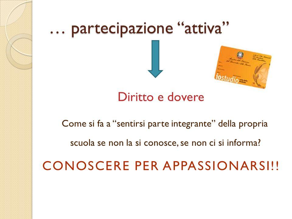 … partecipazione attiva