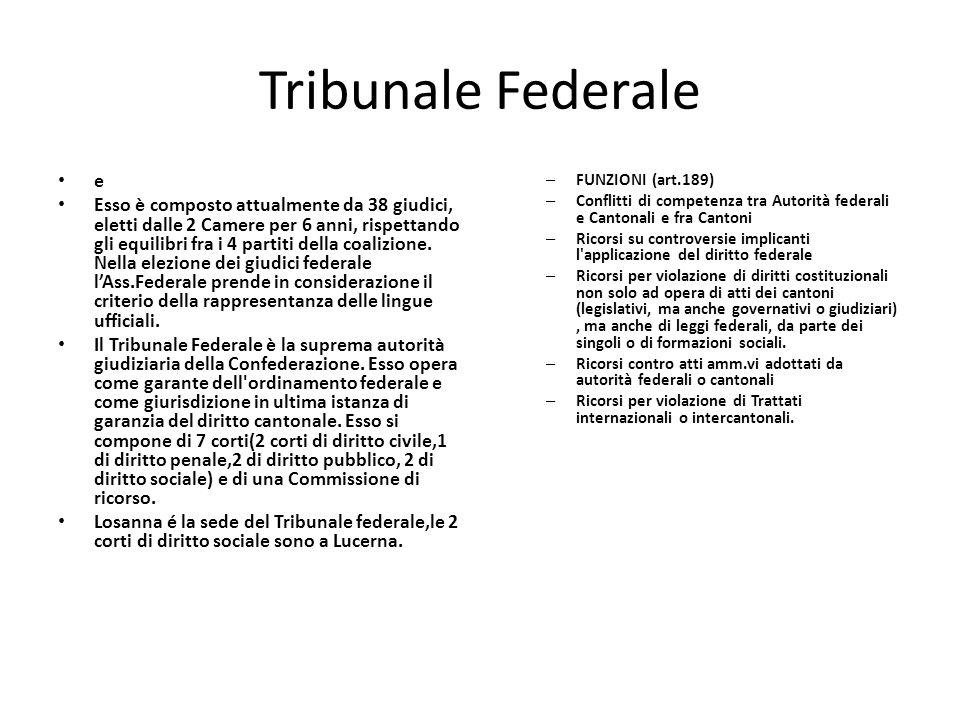 Tribunale Federale e.