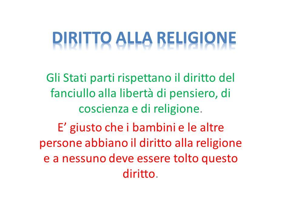Diritto alla religione