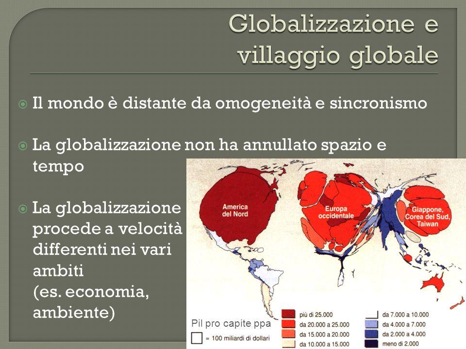 Globalizzazione e villaggio globale