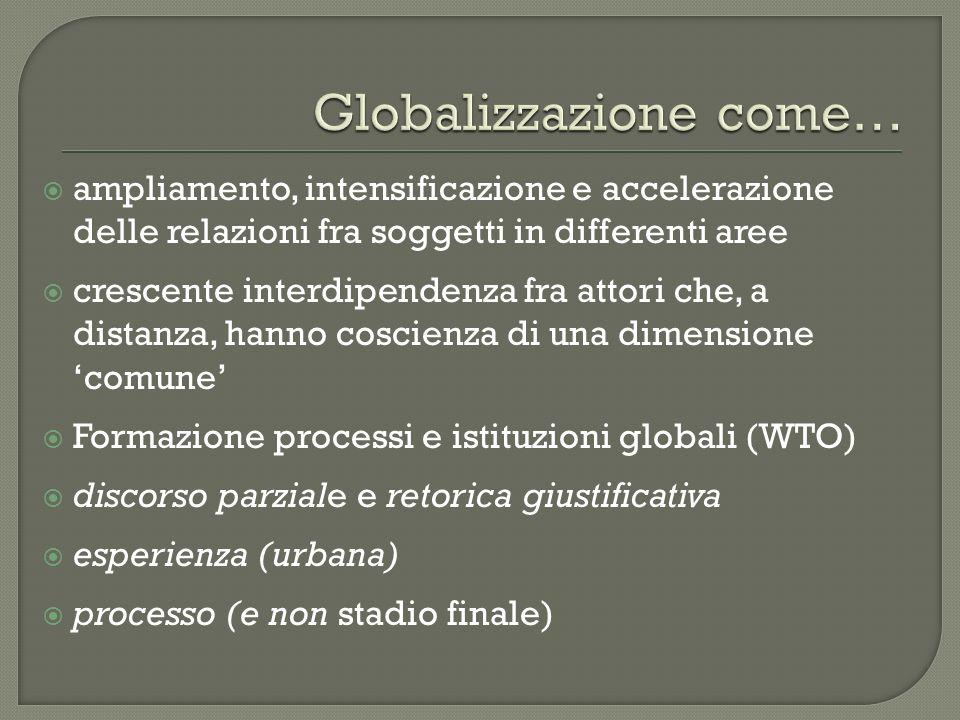 Globalizzazione come…