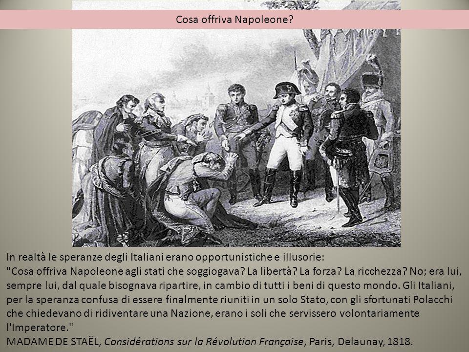 Cosa offriva Napoleone
