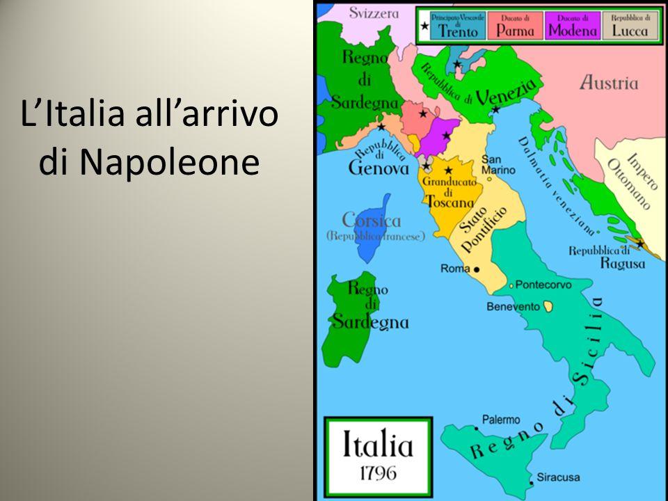 L'Italia all'arrivo di Napoleone