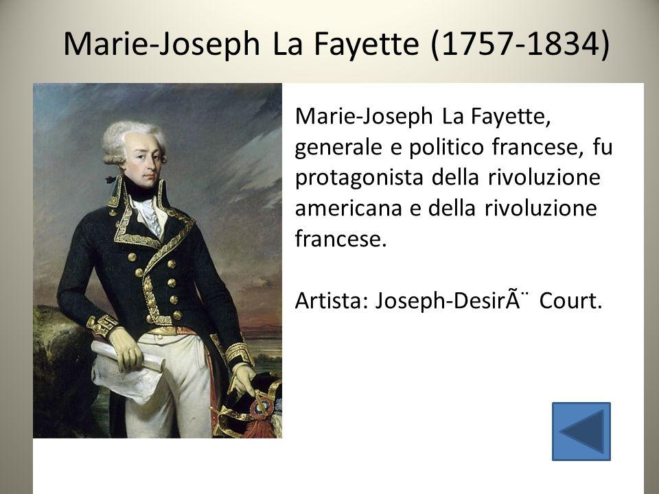 Marie-Joseph La Fayette (1757-1834)