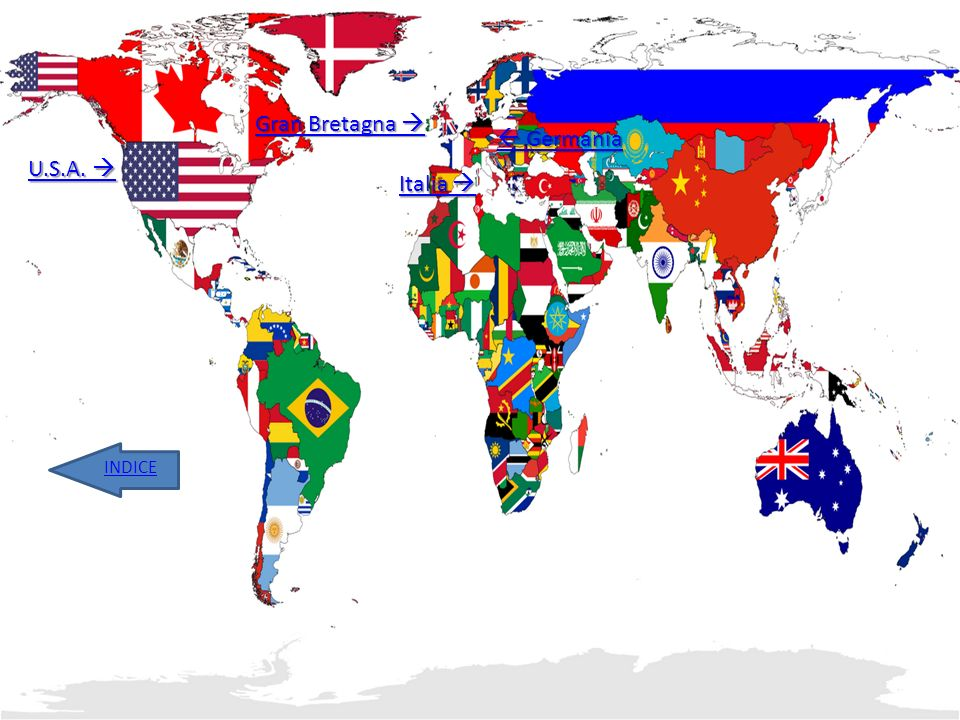 Gran Bretagna   Germania U.S.A.  Italia  INDICE
