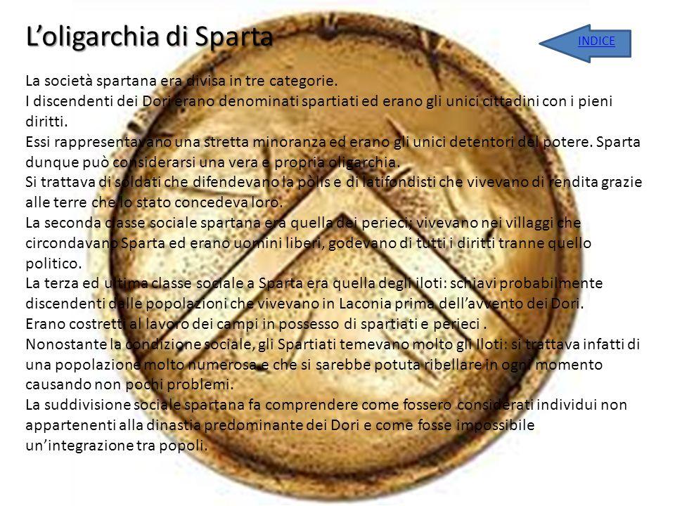 L'oligarchia di Sparta