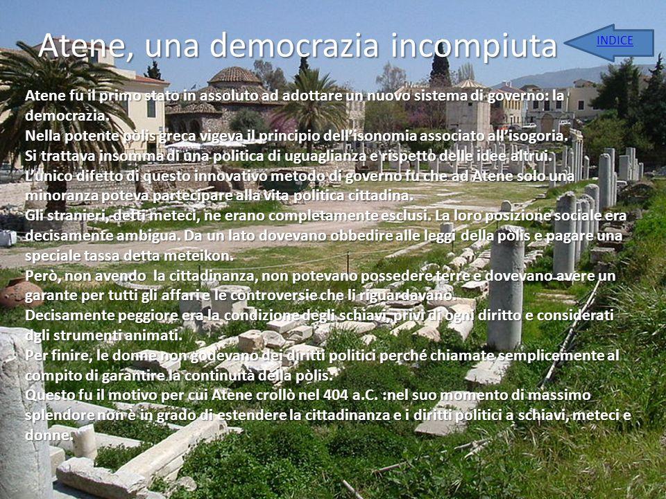 Atene, una democrazia incompiuta