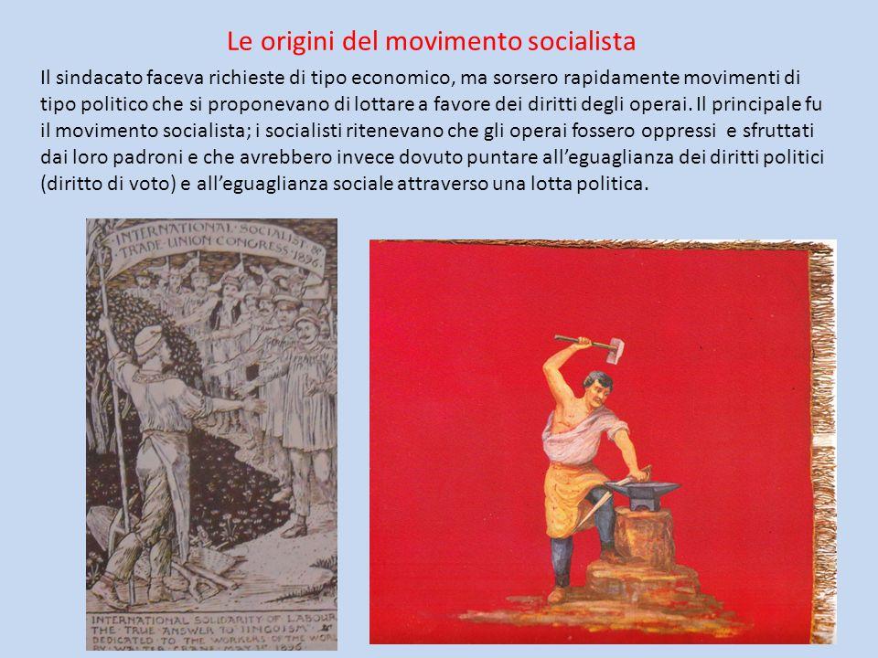 Le origini del movimento socialista