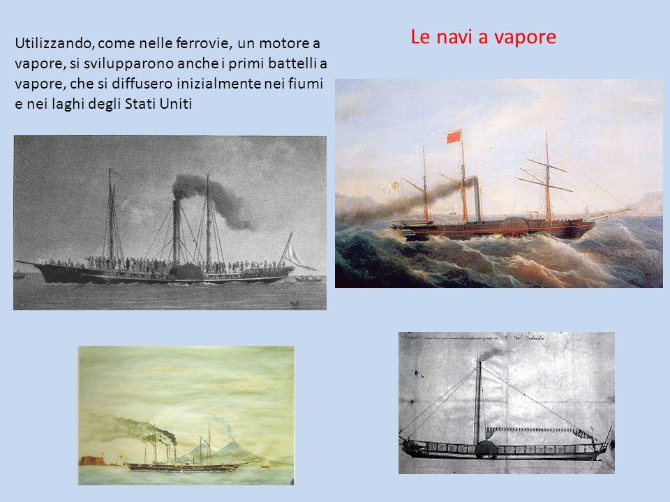 Le navi a vapore