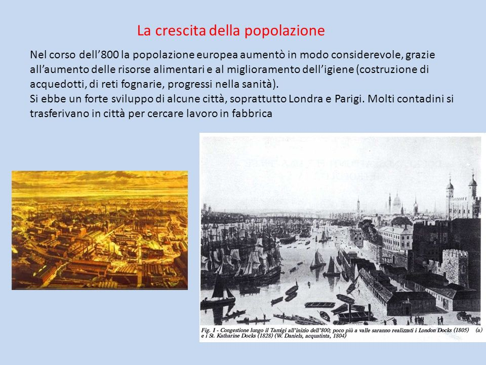 La crescita della popolazione