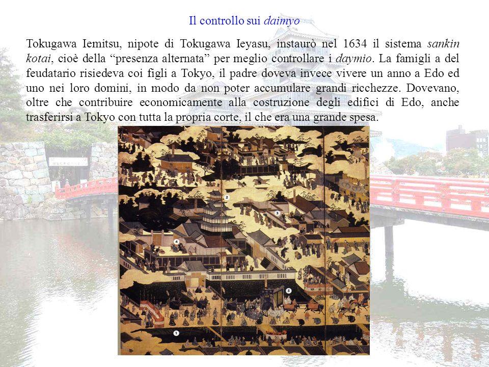 Il controllo sui daimyo